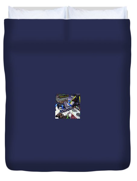 Carton Album Cover Artwork Front Duvet Cover