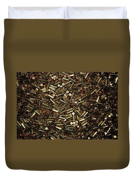 Cartridges Duvet Cover by Kristin Elmquist