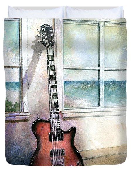 Carvin Electric Guitar Duvet Cover