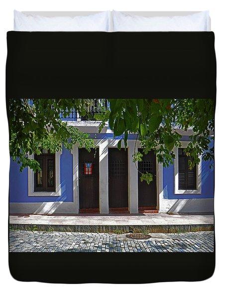 Casa Azul Duvet Cover