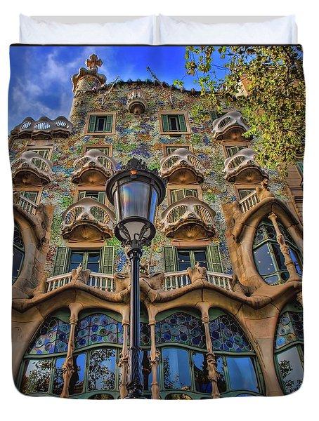 Casa Batllo Gaudi Duvet Cover