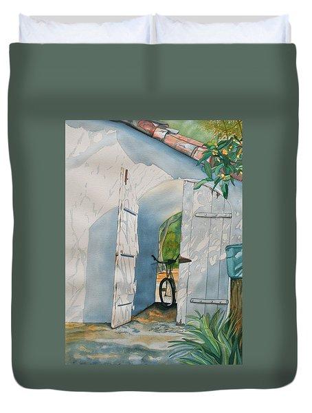 Casa De Teresita Duvet Cover