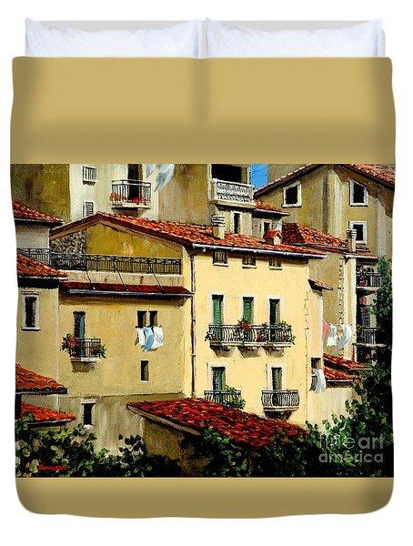 Casa Del Sol Duvet Cover by Michael Swanson