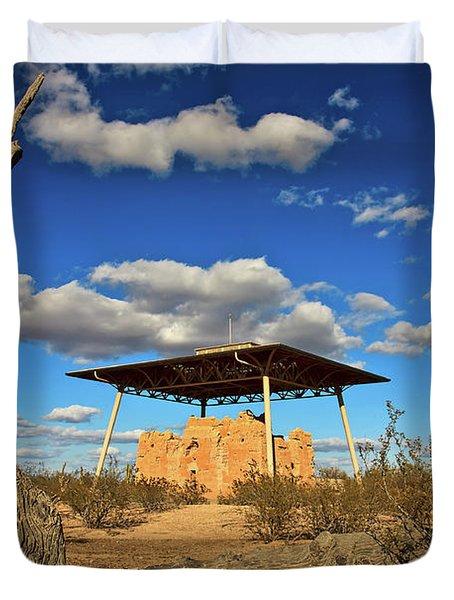 Casa Grande Ruins National Monument Duvet Cover