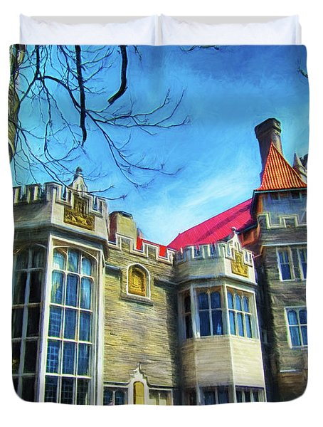Casa Loma Series 2 Painted Y1 Duvet Cover