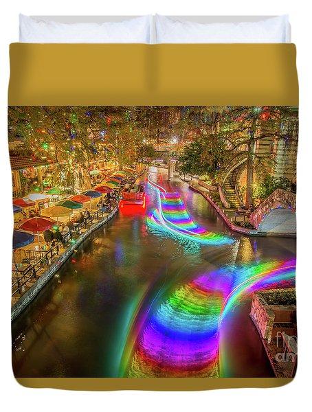 Casa Rio Rainbow Duvet Cover