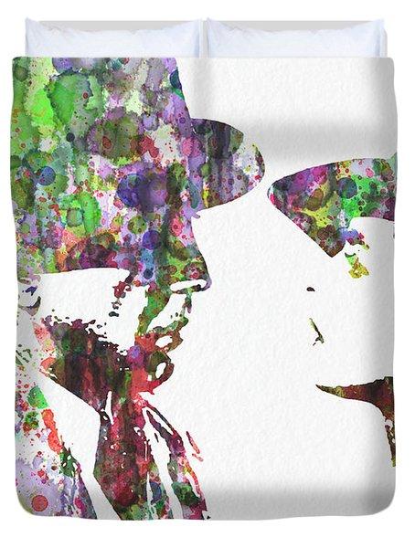 Casablanca 2  Duvet Cover by Naxart Studio
