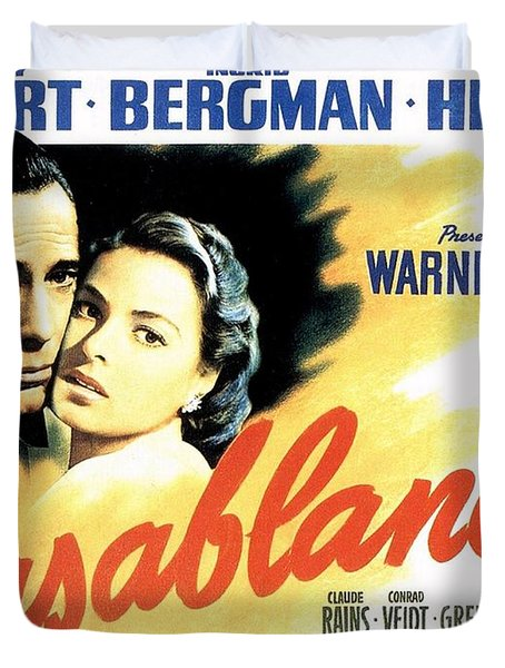 Casablanca Duvet Cover