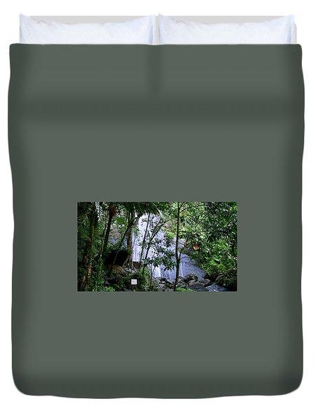 Cascada La Coca Duvet Cover