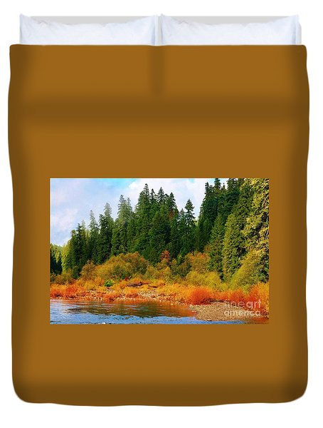 Cascade Autumn Duvet Cover