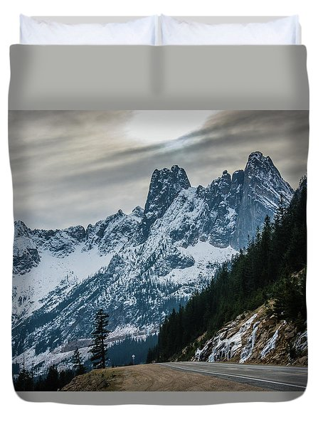 Cascade Beauty Duvet Cover