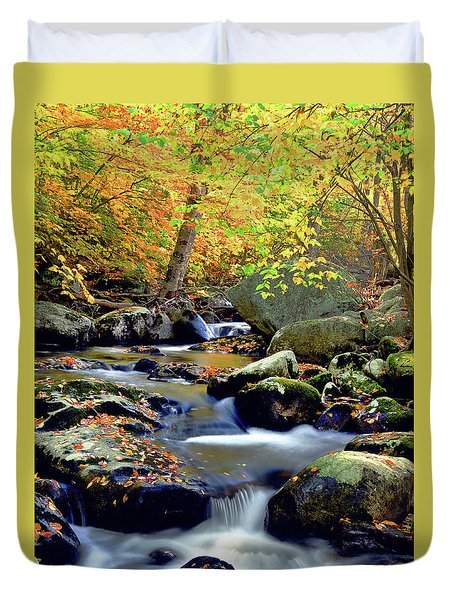 Cascade Brook Duvet Cover