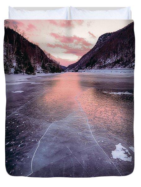 Cascade Ice Duvet Cover
