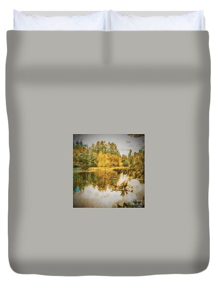Cascade Lake Duvet Cover