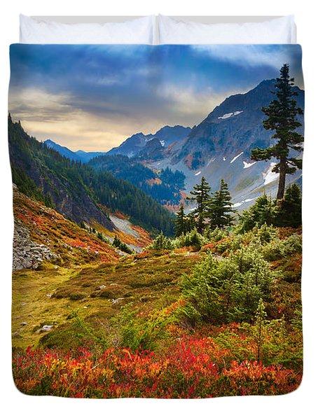 Cascade Pass Fall Duvet Cover