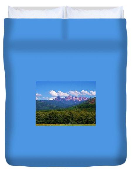 Cascade Sisters Duvet Cover