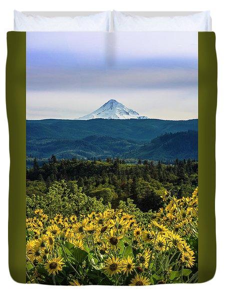 Cascade Spring Duvet Cover