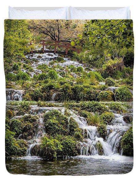 Cascade Springs Utah Duvet Cover