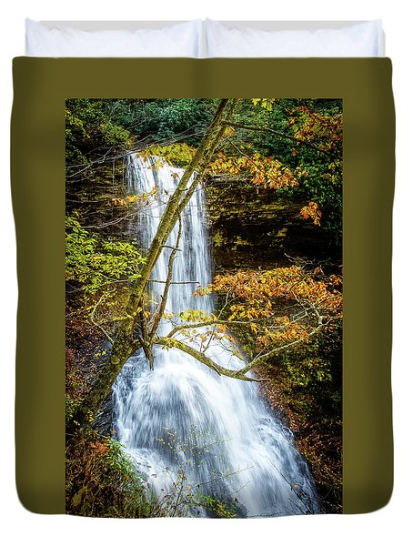 Cascades Deck View Duvet Cover