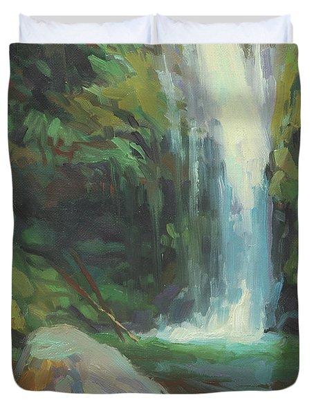 Cascadia Duvet Cover