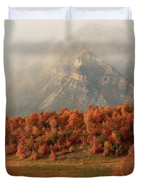 Cascading Fall Duvet Cover