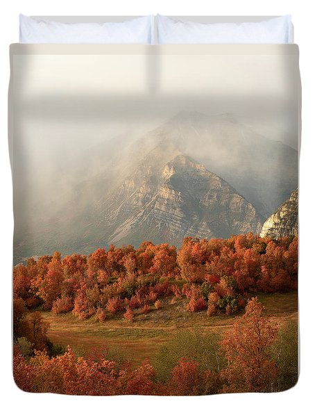 Cascading Fall Duvet Cover