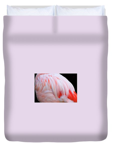 Cascading Feathers Duvet Cover