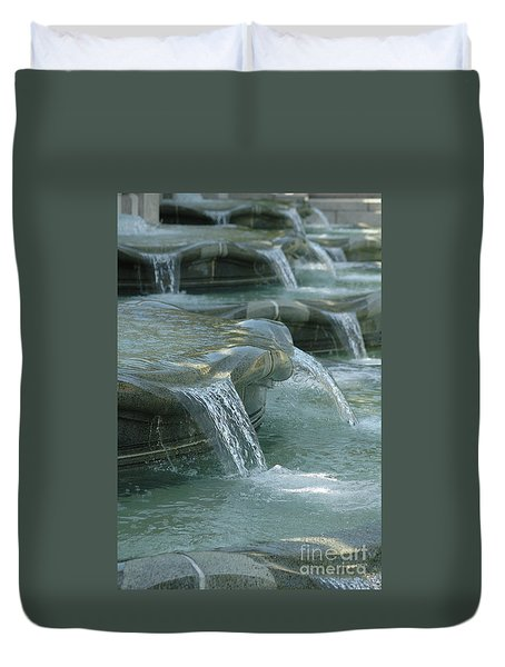 Cascading Fountain Duvet Cover