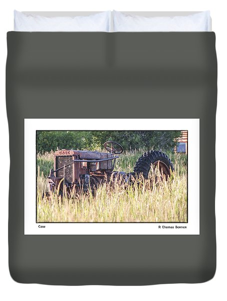 Duvet Cover featuring the photograph Case by R Thomas Berner