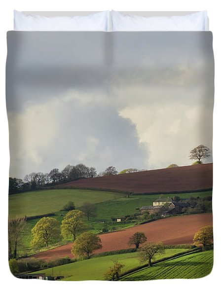 Caseberry Downs In Devon Duvet Cover