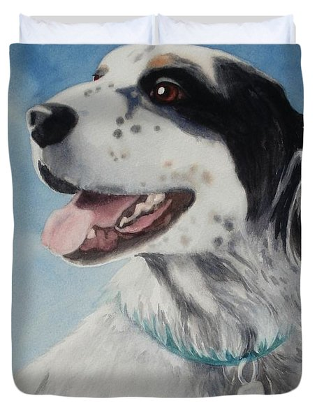 Casey Duvet Cover by Marilyn Jacobson