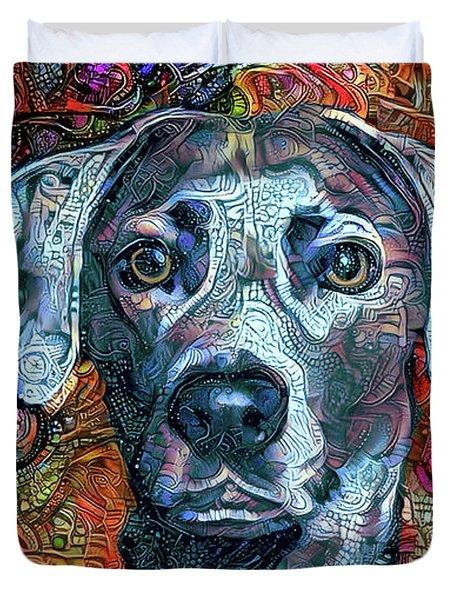 Cash The Blue Lacy Dog Duvet Cover