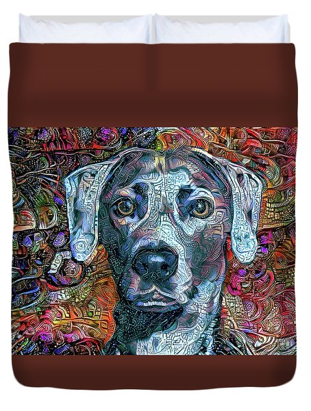 Cash The Blue Lacy Dog Duvet Cover