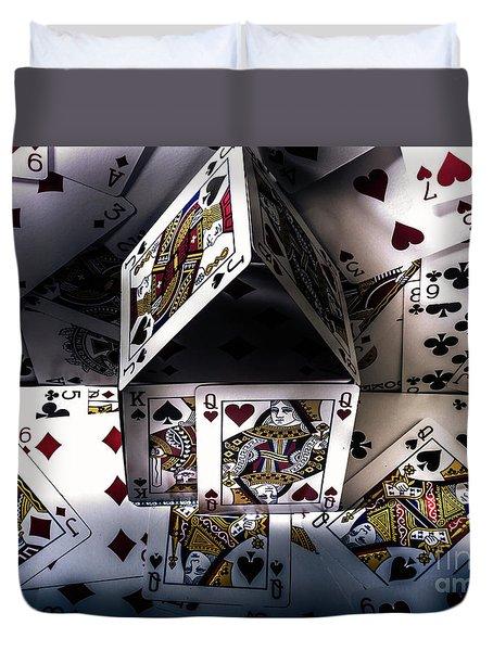 Casino House Duvet Cover