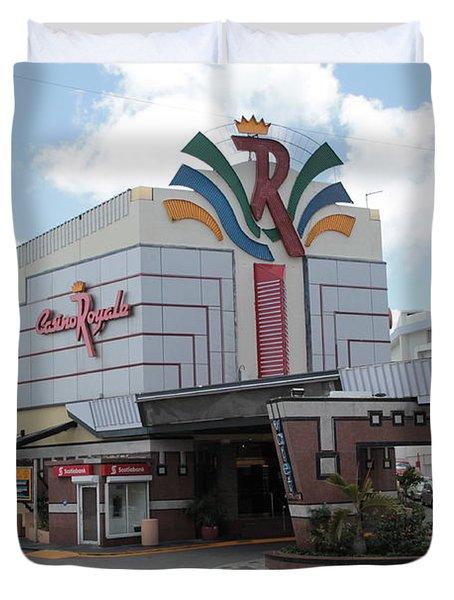 Casino Royale St. Maarten Duvet Cover