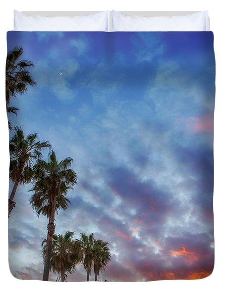 Casitas Palms Duvet Cover