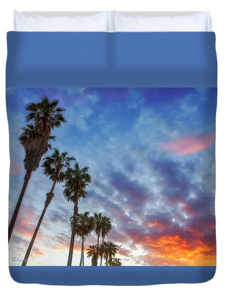 Casitas Palms Duvet Cover