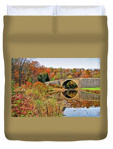 Casselman River Bridge Duvet Cover