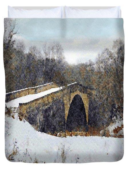 Casselman River Bridge Duvet Cover