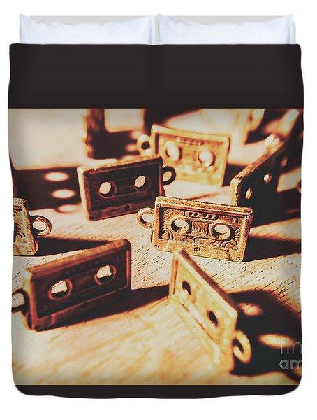 Cassette Club Dance Duvet Cover
