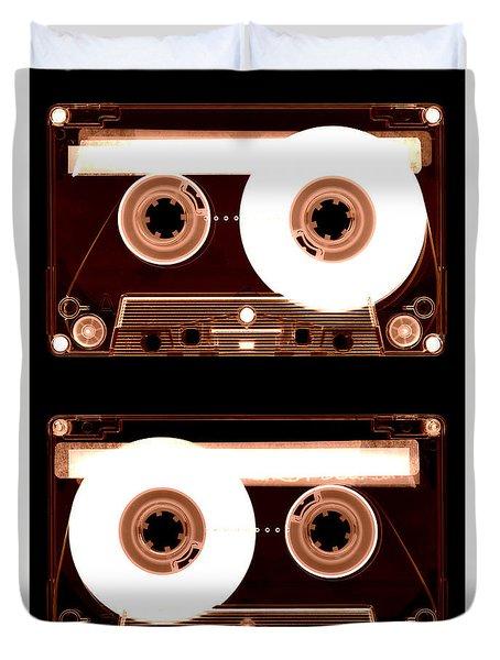 Cassette Tapes Duvet Cover