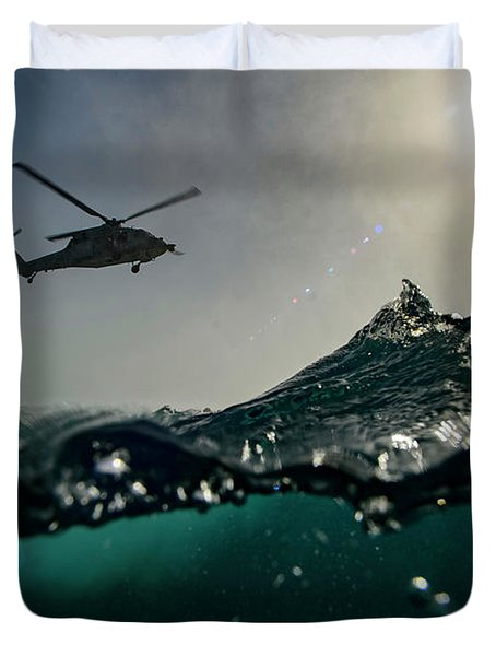 Cast And Recovery Operations Duvet Cover