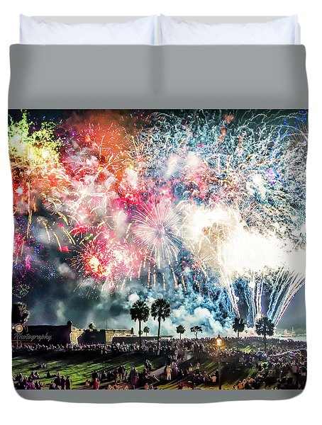 4th Finale Duvet Cover