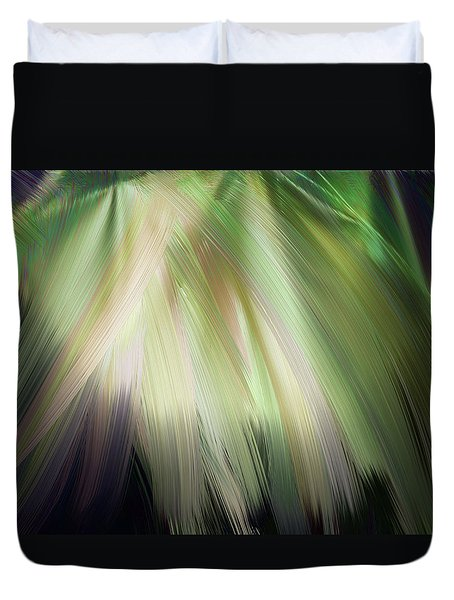 Casting Light Duvet Cover by Karen Nicholson