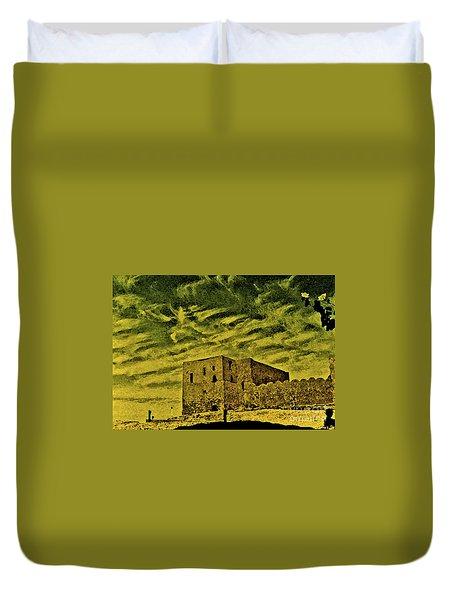 Castle Aswan Duvet Cover