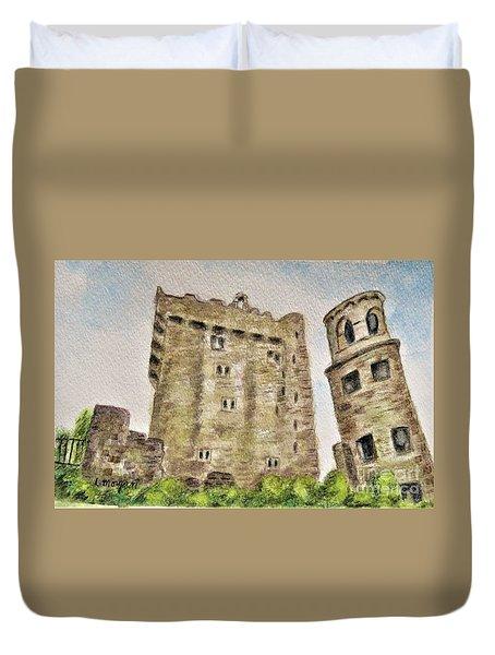 Castle Blarney Duvet Cover
