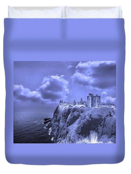 Castle Blue Duvet Cover