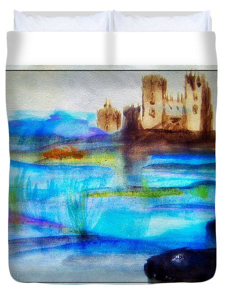 Castle By Colleen Ranney Duvet Cover