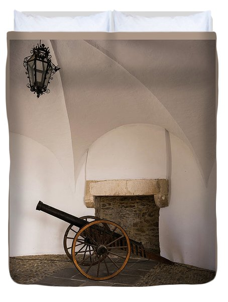 Castle Canon Duvet Cover by Rae Tucker