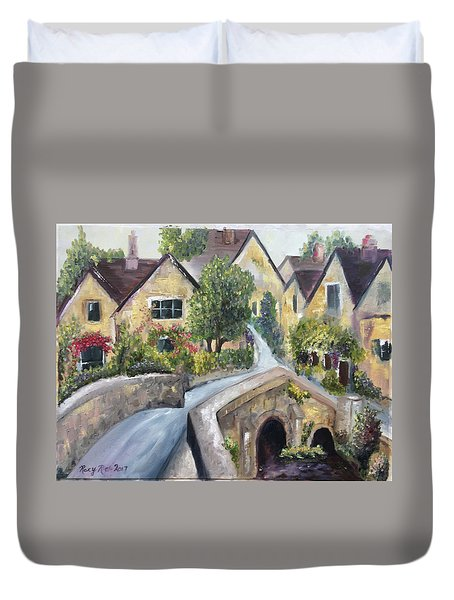 Castle Combe Duvet Cover by Roxy Rich